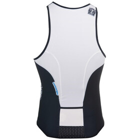 Bioracer Tri Top Zipper, black-white